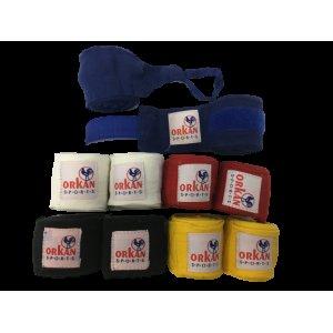 Bandagen und Innenhandschuhe