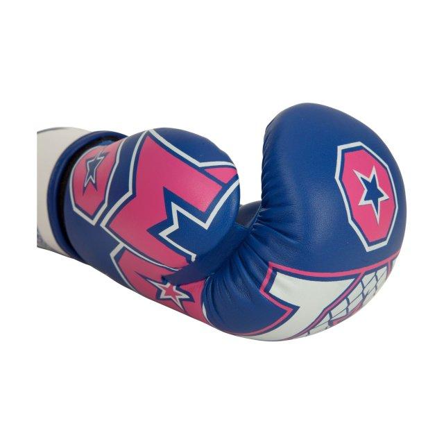Boxhandschuhe Woman für Frauen blau/pink 10 oz
