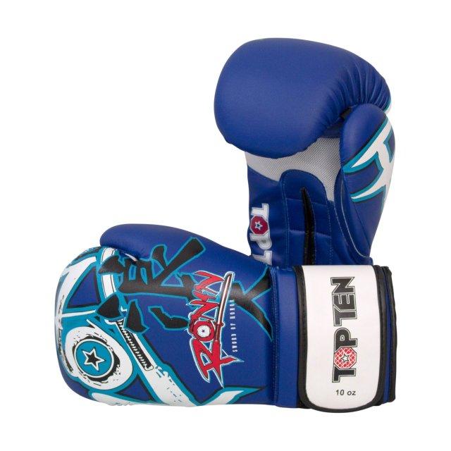 "mehrere Farben. 12 oz.Boxen.Kickboxen Muay Thai Boxhandschuh TOP TEN /""Tiger/"""