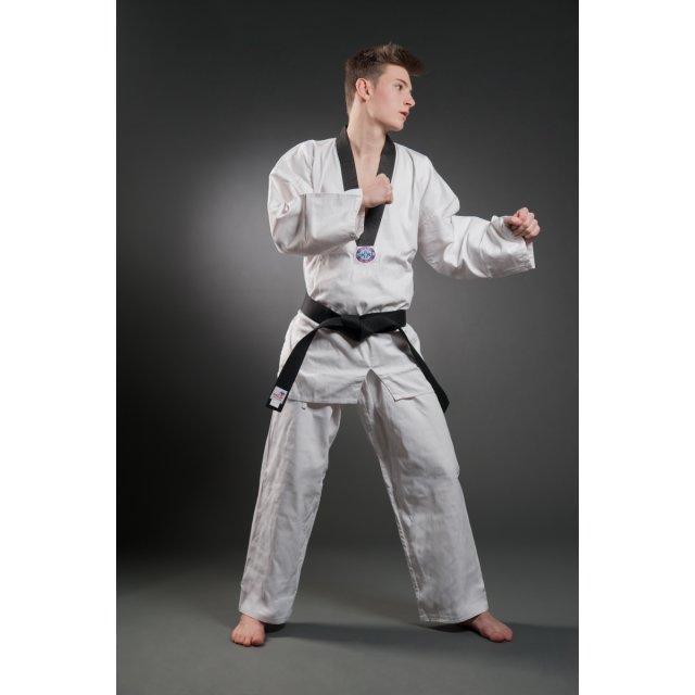 Orkan Taekwondo Anzug Victory mit schwarzem Rev.