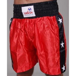 Orkan Thai-Box Shorts rot/schwarz