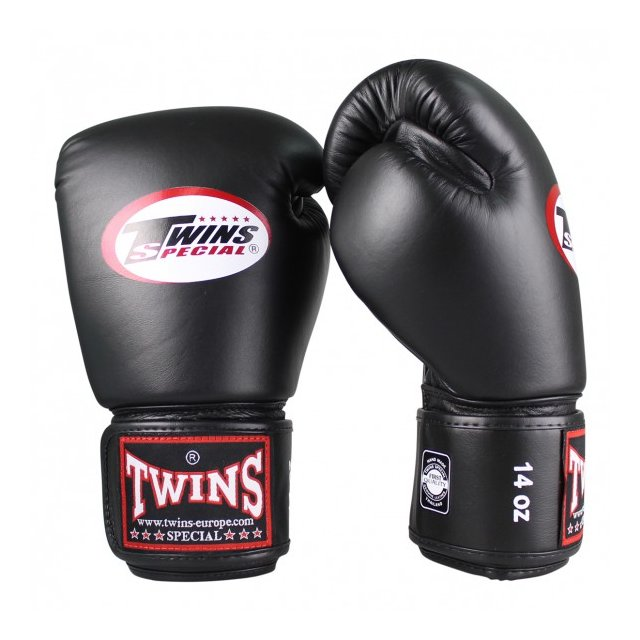 Twins Boxing Gloves Leather Muay Thai16oz