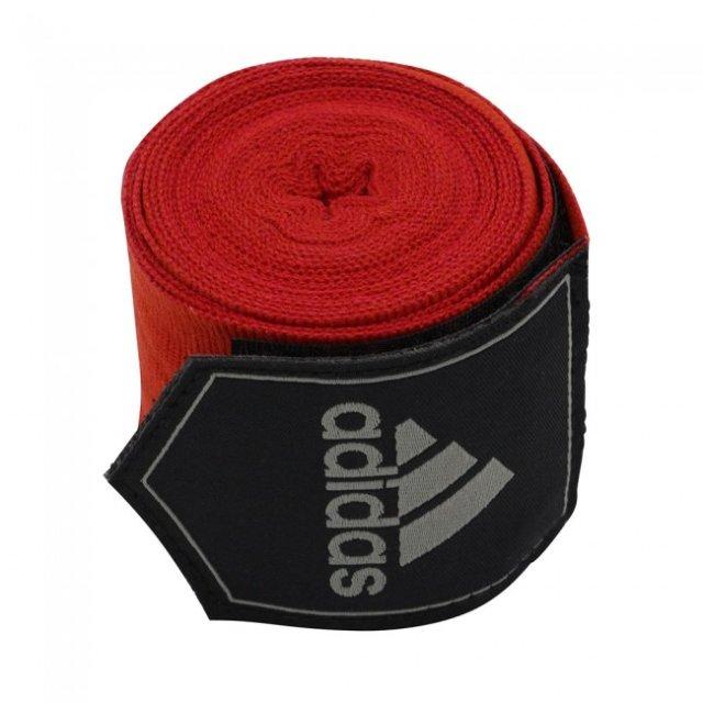 Adidas Boxbandagen 3,50 m Rot