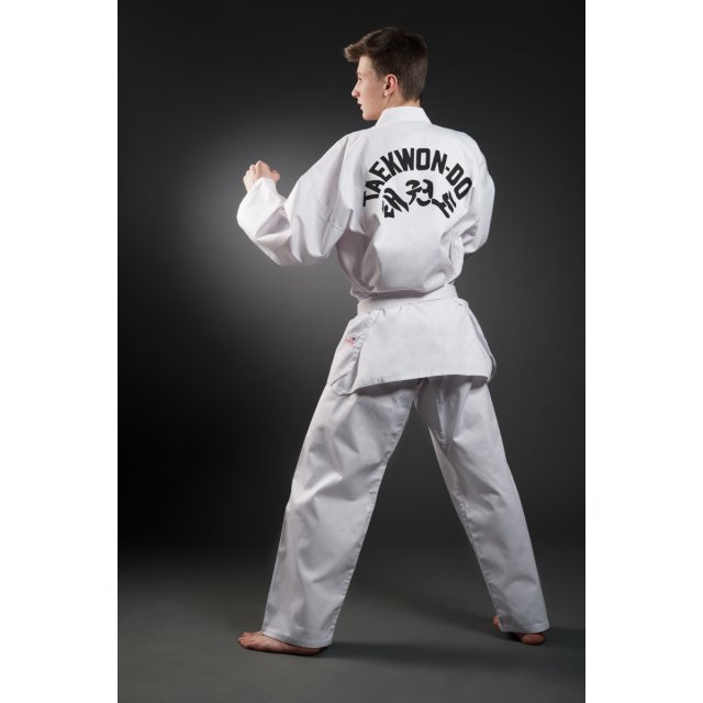 Orkan Taekwondo Anzug mit Rückendruck 140