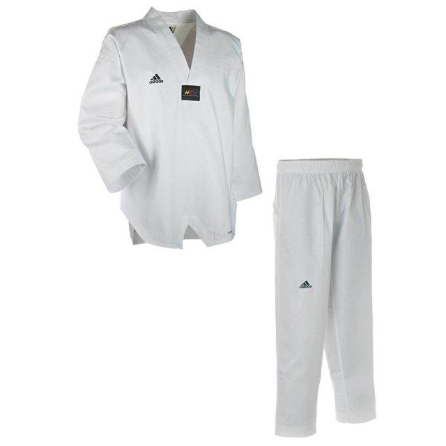 Adidas Adichamp III Taekwondo Anzug 210 Weiß