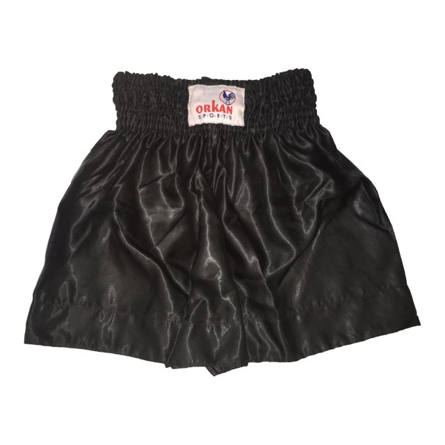 Orkan Thai-Box Shorts Satin schwarz L