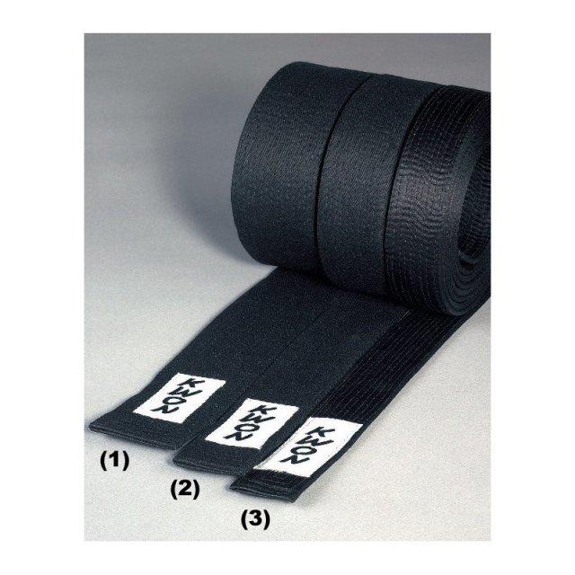 KWON Budo-Gürtel schwarz 5cm 260