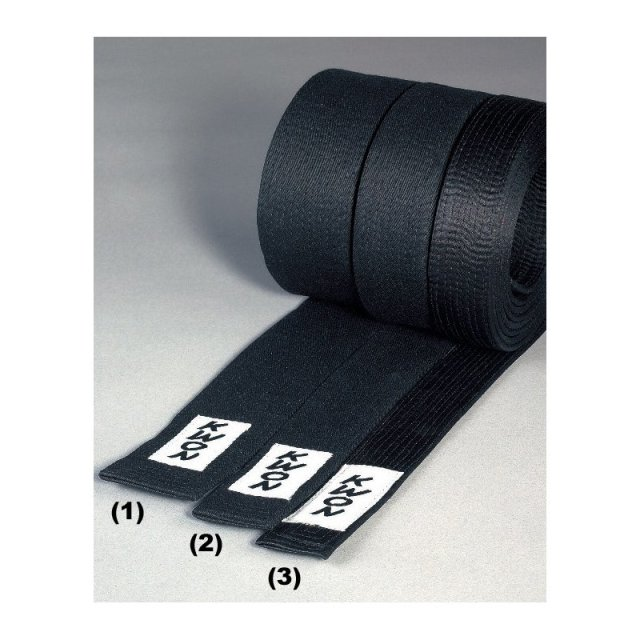KWON Budo-Gürtel schwarz 5cm 320