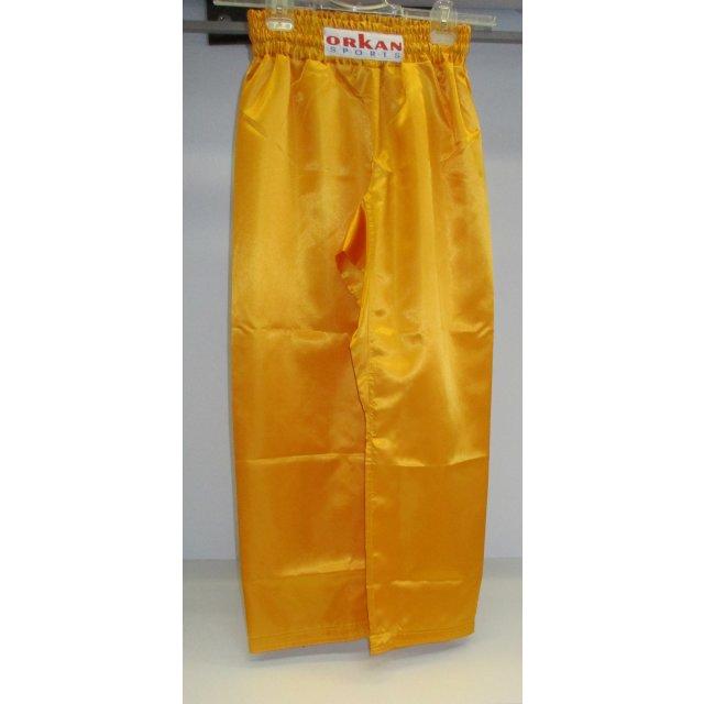 Orkan Satinhose gelb 160