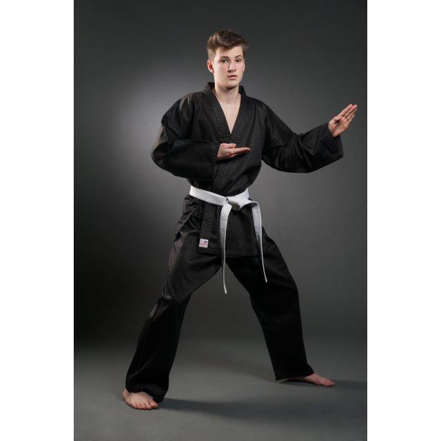 Karate Anzug Orkan schwarz 180