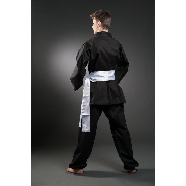 Orkan Kung Fu Anzug schwarz 140