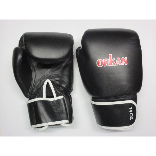 Orkan Boxhandschuhe Leder Thai Box Training 12oz