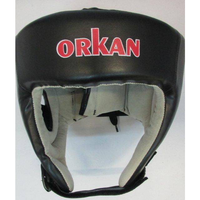 Orkan Kopfschutz PU schwarz XL