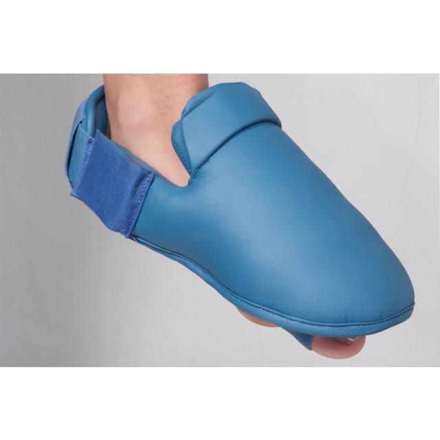 Orkan Schienbein- und Fußschutz Karate S Blau