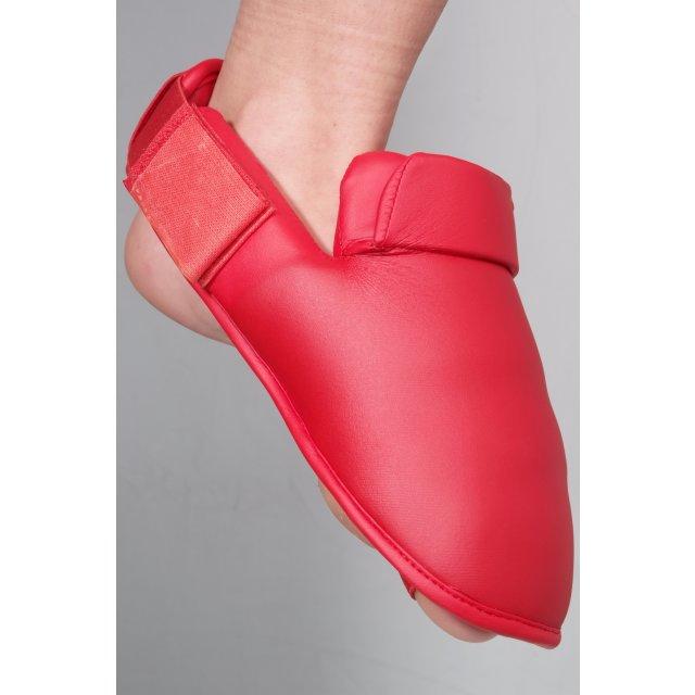 Orkan Schienbein- und Fußschutz Karate M Rot