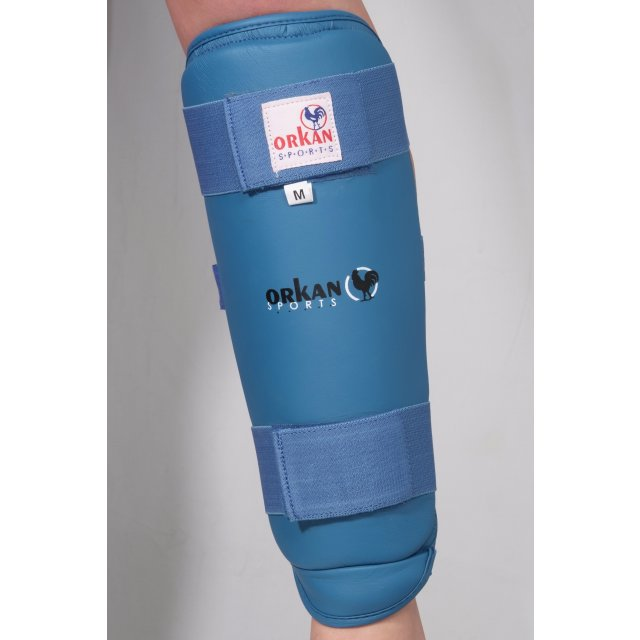 Orkan Schienbein- und Fußschutz Karate XL Blau