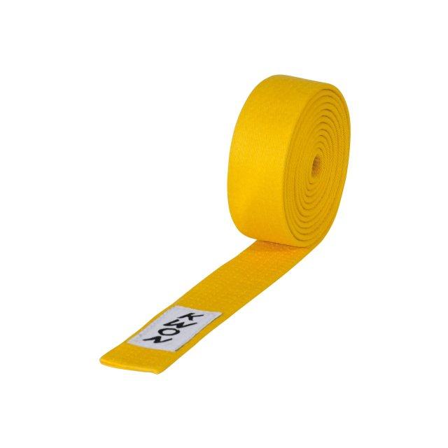 KWON Budogürtel 240 gelb