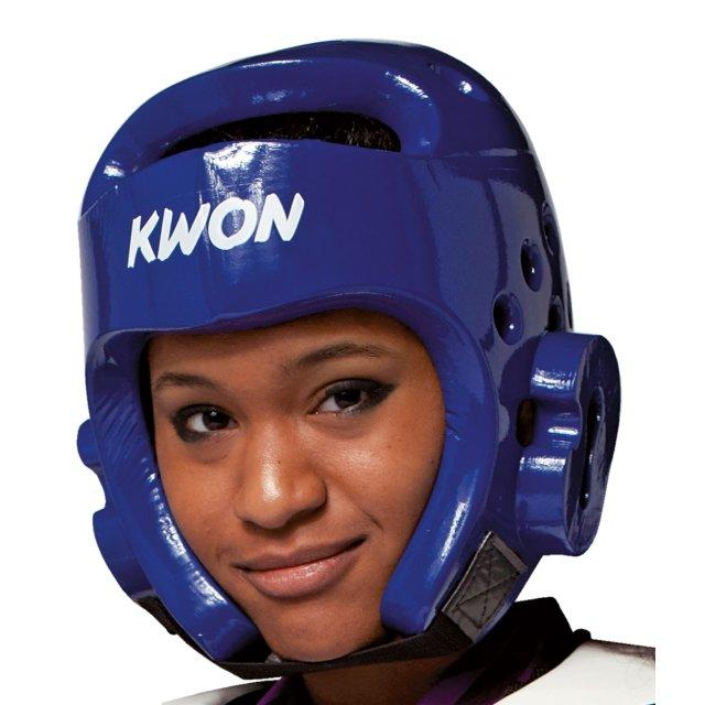 Kopfschutz PU Blau XL