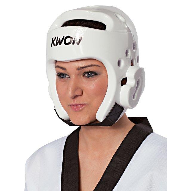 Kopfschutz PU Weiß XS