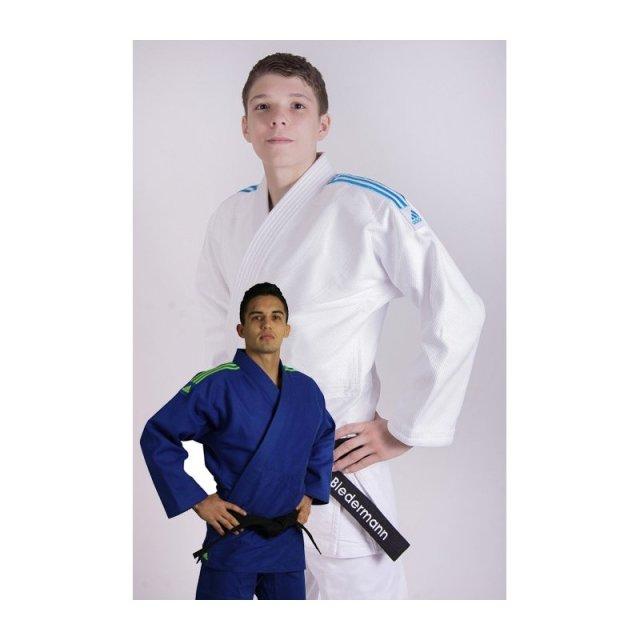 Adidas Quest 195 Weiß mit blauen Streifen