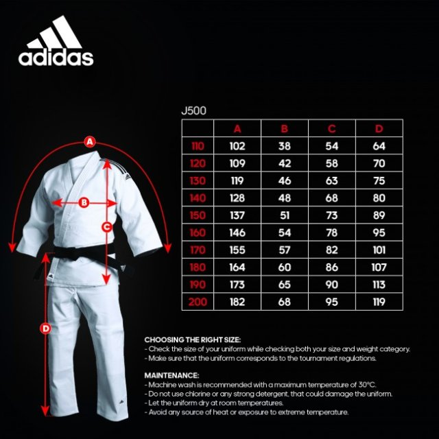 Adidas Training Judoanzug 170
