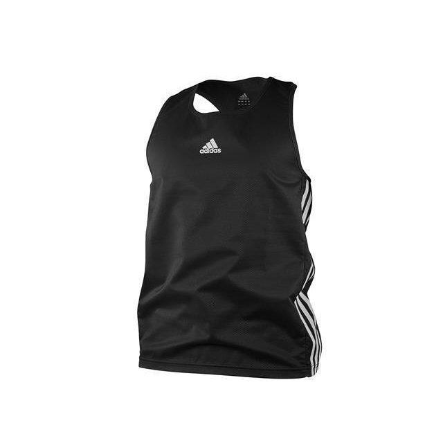 Amateur boxing top schwarz XL