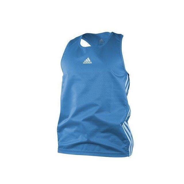 Amateur boxing top blau S
