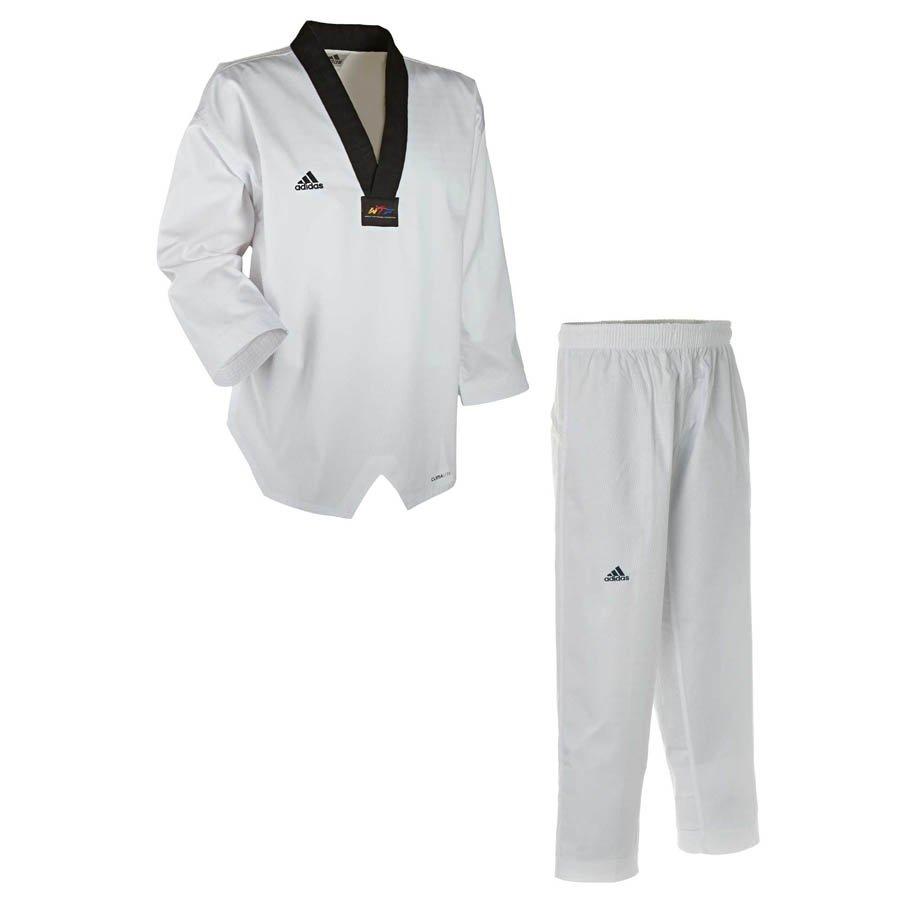 adidas adidas adichamp iii taekwondo anzug schwarzes rever. Black Bedroom Furniture Sets. Home Design Ideas