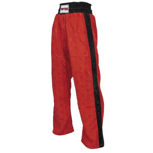 Kickboxhose Classic rot/schwarz S=160