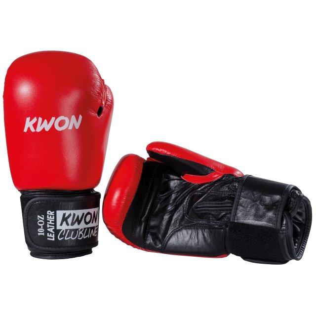 rot KWON Boxhandschuhe 10 Oz Pointer Leder